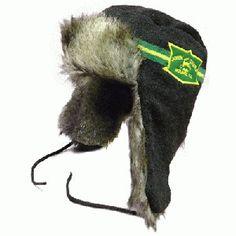 fbe1e070a1a59 John Deere Sweater Knit Fur Hockey Trapper Hat