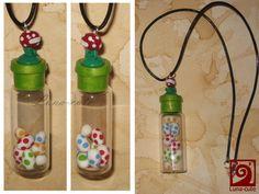 Yoshis Island necklace by Luna-cuteXD