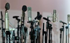 vast range of microphones at livingston studios