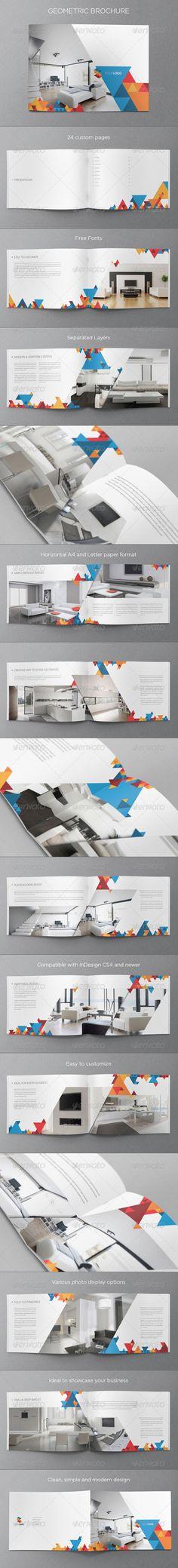 Modern Geometric Brochure - Corporate Brochures