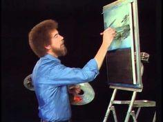 Bob Ross Snow Fall The Joy of Painting (Season 1 Episode 12) - YouTube