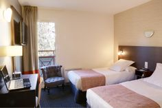 Best Western Hotel Gap (Maranatha Hotels) - Chambre à lits jumeaux | Room with two single beds