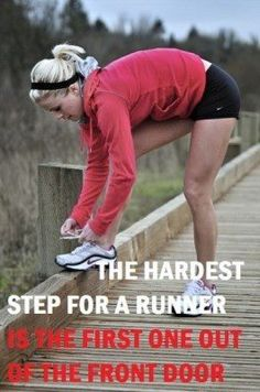 For me this (currently) should read- ...for a walker/jogger... Not running, YET!??!