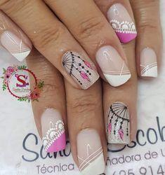 Romantic Nails, Fancy Nails, Pedicure, Nail Art Designs, Beauty, Nail Bling, Gel Nail, Work Nails, Toe Nail Art