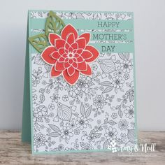 A You-Don't-Have-to-Color-It Card by Amy O'Neill — FMS281