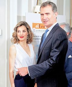 "King Felipe and Queen Letizia attend the 10th anniversary of ""elEconomista"". Madrid, 08.06.2016."