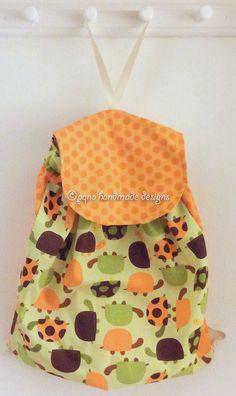 Ref. MP388- Davant de motxilla, de tela - Delante de mochila, de tela - Drawstring backpack, front, of fabric... aprox. 36 x 36cm VENUDA-VENDIDA-SOLD OUT