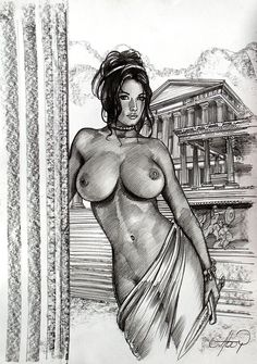 Goddess VZ Seduction Cover by Claudio Aboy