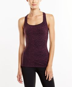 Look what I found on #zulily! Blackberry Fitness Fix Tank #zulilyfinds