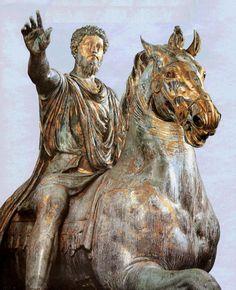 La estatua ecuestre de Marco Aurelio puede parecer dura, pero la filosofía de los estoicos buscaba formas de aprender de los errores y vivir una vida más consciente