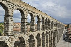 Ancient Roman aqueducts -- a complex system of underground waterways joined with arched stone, brick, and cement structures -- used gravity to provide fresh running water for drinking and bathing. They also helped keep Romans healthy by carrying away used water and waste.