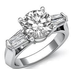 $2,930  -  * EGL CERTIFIED * 1.37 CARATS ROUND SOLITAIRE DIAMOND RING ON 14K SOLID WHITE GOLD F 26 D http://www.amazon.com/dp/B00MP8IC1E/ref=cm_sw_r_pi_dp_rP8Aub1WRJASX