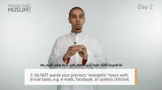 [ProductiveRamadan Online Tips]: Episode 2 - Energy Management - Part 1 - (with Arabic Subtitles)  If you like these videos, like, share, comment below or subscribe to our newsletter and get these videos sent to your inbox daily: http://productivemuslim.com/newsletter/  Follow us: @AbuProductive on Twitter | Productive Muslim on Facebook