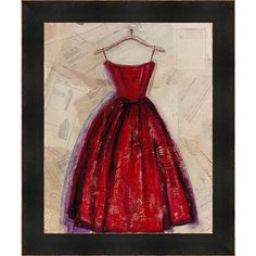 Fashion Designed Framed Wall Art ($149) ❤ liked on Polyvore featuring home, home decor, wall art, home decorators collection, red wall art, framed wall art and red home decor
