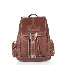 Grebago women pu leather fashion casual college school bags laptop travel backpack Magnetic snap light coffe >>> Read more reviews of the product by visiting the link on the image.