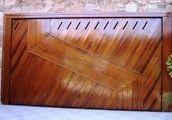 Modelo portão de madeira (EP-311) #portaodemadeira #portaoautomatico #portao #portoes #modelosdeportoes