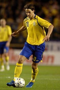 Zlatan Ibrahimovic - pinning in honour of a beautiful goal! One of only three for Sweden in the Euro 2012, but a beautiful one nonetheless.