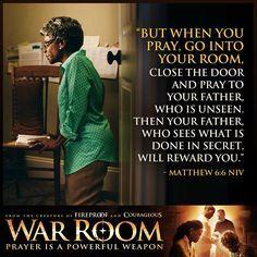 War Room: Kendrick Brothers Christian Movie/Film - Banner 4