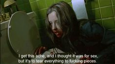 """14 Times """"Ginger Snaps"""" Perfectly Summed Up Your Teen Girl Angst Horror Movie Quotes, Horror Films, Ginger Snaps Movie, Teen Witch, Words With Friends, Kindred Spirits, Scary Movies, Film Stills, Werewolf"""
