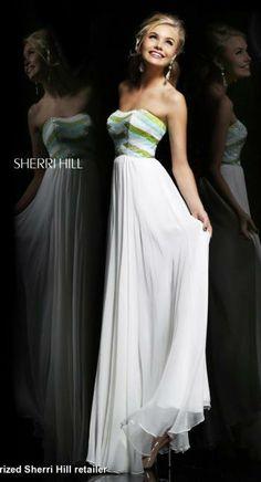 Sherri Hill Dress 8532 | Terry Costa Dallas @Terry Song Song Costa #sherrihill