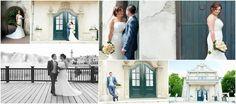 Deze mooie trouwfoto werd in de Efteling genomen