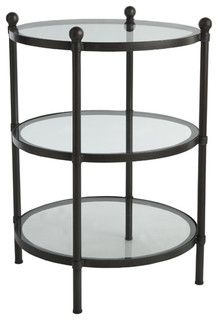 See-Through Side Table - contemporary - side tables and accent tables - by Wisteria $299