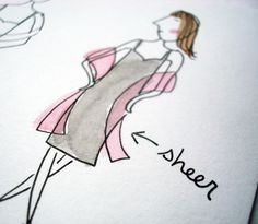 Seeking Sweetness in Everyday Life - CakeSpy - How to Draw Clothes on Illustrated Characters