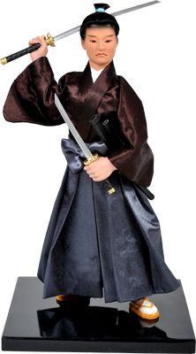 Miyamoto Musashi Doll Book Of Five Rings, Miyamoto Musashi, Asian Art, Doll, Beautiful, Garden, Dresses, Gifts, Decor