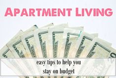 21 Easy and Unexpected Living Room Decorating Ideas Apartment Living: living on a budget, easy tips to help you save money and stay on budget from Label Me Merrit My First Apartment, Apartment Goals, Apartment Living, Apartment Ideas, Apartment Layout, Apartment Interior, Diy Craft Projects, Diy Crafts, Living On A Budget
