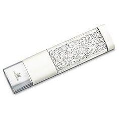 Swarovski Crystalline White Pearl USB flash memory