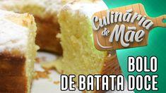 Culinária de Mãe #46 - Bolo de Batata Doce