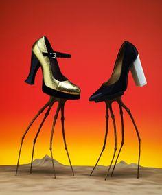 Bela Borsodi, Photographer - Bullett Vol 9 Giraffes on Horseback Salad