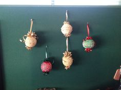 Pat's ornaments Belly Button Rings, Students, Christmas Ornaments, Holiday Decor, Christmas Ornament, Belly Rings, Belly Button Piercing, Christmas Topiary, Belly Piercings