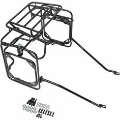 - Expedition Luggage Rack System - Motocycle Pictures and Wallpapers Motorcycle Equipment, Enduro Motorcycle, Motorcycle Luggage, Motorcycle Camping, Motorcycle Types, Moto Bike, Yamaha Tw200, Bmw Scrambler, Ktm 450 Exc