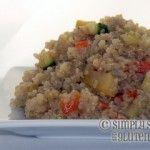 Recipe for Gluten Free, Sugar Free Gluten-Free Parmesan Quinoa Recipe with Zucchini, Yellow Quash, & Carrots
