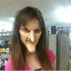 Witch/ goblin makeup #halloween #prosthetic