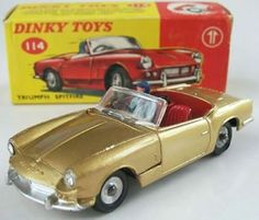 Dinky Toys No. Very poor Triumph Spitfire, Collectible Cars, Corgi Toys, Metal Toys, All Kids, Old Cars, Jaguar, Vintage Toys, Hot Wheels
