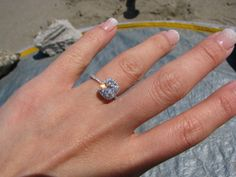 Harry Winston ring, 1.33 carats