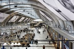 Stockholm Railway Station, Sweden.  www.karimtaib.com