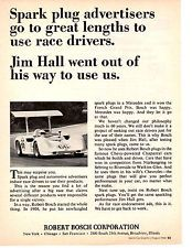 1968 JIM HALL CHAPARRAL  ~  NICE ORIGINAL ROBERT BOSCH AD
