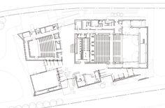 kengo kuma completes angular iiyama cultural hall in japan Theater Architecture, Museum Architecture, Cultural Architecture, Architecture Portfolio, Architecture Plan, Zaha Hadid, Planning Center, Location Plan, Auditorium Design