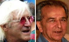 Former friends: Jimmy Savile and Haroon Kasir, who ran Elm Guest House