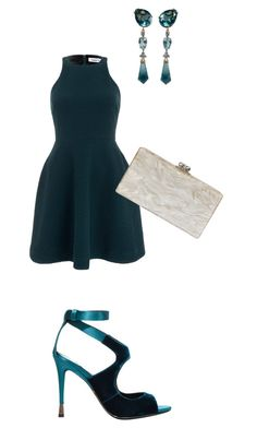 """""""Untitled #55"""" by janiece1000 on Polyvore featuring Tom Ford, Elizabeth and James and Edie Parker"""