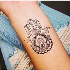 Fatima  Mano Tattoo