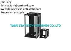 Safe Shelving PCB ESD Protection Anti Static Container Dissipative Plastic