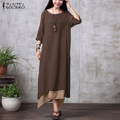 Like and Share if you want this  ZANZEA Women Casual Loose Boho Long Maxi Dresses Plus Size     Tag a friend who would love this!     FREE Shipping Worldwide | Brunei's largest e-commerce site.    Buy one here---> https://mybruneistore.com/zanzea-fashion-cotton-linen-vintage-dress-2017-summer-autumn-women-casual-loose-boho-long-maxi-dresses-vestidos-plus-size/