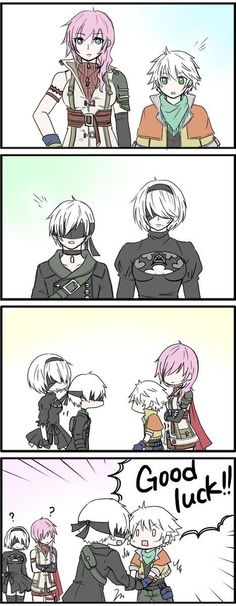 Time for your medicine, 9S   NieR: Automata   Know Your Meme