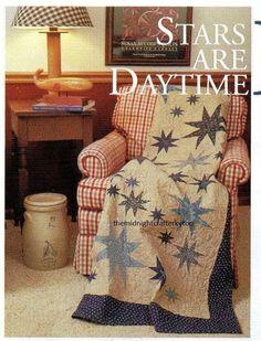 Stars Are Daytime Friends Quilt Pattern Pieced CB