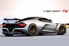 ヘネシー最高速466km/hへ!新型ヴェノムF5は1400馬力 - 車好きの勝手な妄想/新型車最新情報&動画