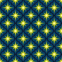 c-rhombus star - firefly fabric by sef on Spoonflower - custom fabric